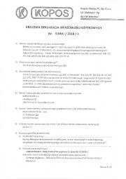 Deklaracja wlasciwisci uzytkowych