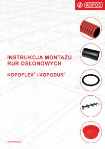 Instrukcja montażu rur osłonowych KOPOFLEX® i KOPODUR®