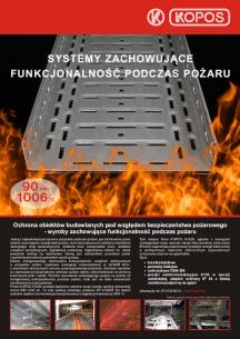 Systemy zachowujące funkcjonalność podczas pożaru