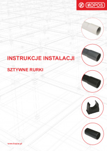 Instrukcje instalacji sztywne rurki