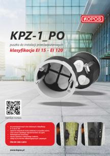 KPZ-1_PO Puszka do instalacji przeciwpożarowych