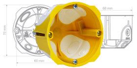 KPL 64-45/LD - Dwukomponentowa puszka elektroinstalacyjna
