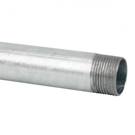 6042 ZN F - ocelová trubka závitová žárově zinkovaná (ČSN)