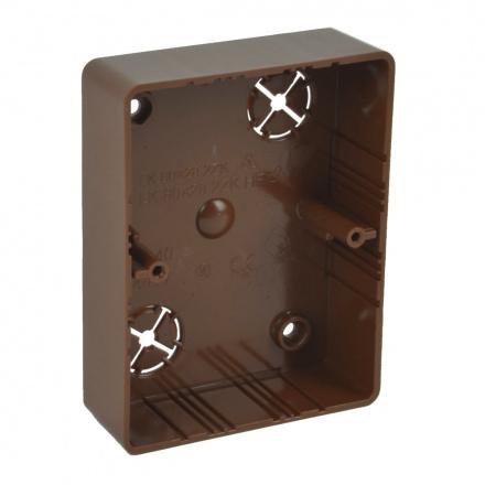 LK 80X28 2ZK I2 - krabice přístrojová (imitace)