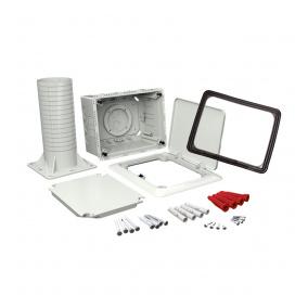 KUZ-VOI KB - krabice univerzální do zateplení s tubusem a otevíracím víkem