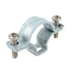 5225 ZN F - příchytka OMEGA pro ocelové trubky EN a ČSN