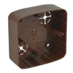 LK 80X28 T I2 - krabice přístrojová (imitace)