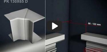 Embedded thumbnail for Instrukcja montażu kanału parapetowego PK 130X65 D