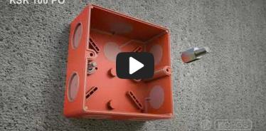Embedded thumbnail for Instrukcja montażu puszki KSK 100 PO zachowującej funkcjonalność w przypadku pożaru