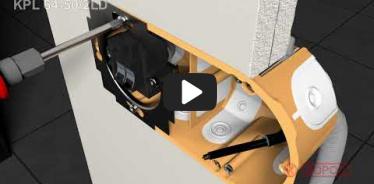 Embedded thumbnail for Instrukcja montażu puszki elektroinstalacyjnej do ścian pustych KPL 64-50/2LD