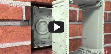 Embedded thumbnail for Instrukcja montażu puszki uniwersalnej z wieczkiem - KUZ-V