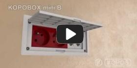 Embedded thumbnail for Instrukcja montażu wielofunkcyjnej puszki przyrządowej KOPOBOX mini B