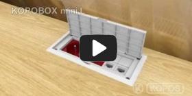 Embedded thumbnail for Instrukcja montażu wielofunkcyjnej puszki przyrządowej KOPOBOX mini L