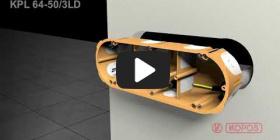 Embedded thumbnail for Instrukcja montażu puszki elektroinstalacyjnej do ścian pustych KPL 64-50/3LD