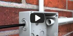 Embedded thumbnail for Instrukcja montażu puszki KSK o stopniu ochrony IP 66